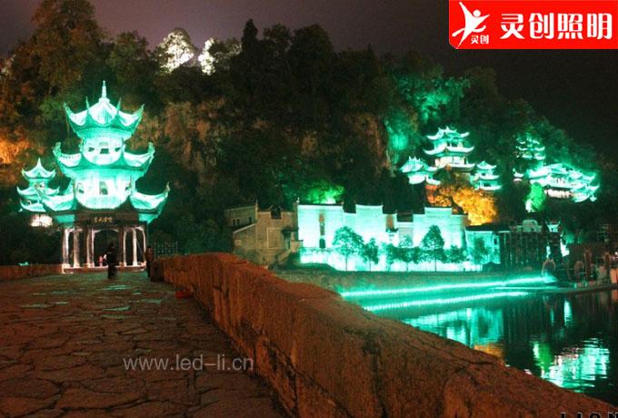 灵创中标贵州镇远旅游亮化项目