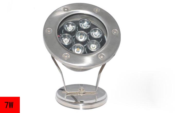 7W LED水底灯